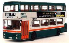 29012 Efe Daimler Fleetline GM Standard Double Jeu Bus 1:76 Gris Vert 179