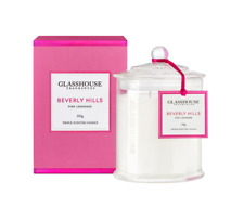 BEVERLY HILLS PINK LEMONADE Candle 350g %7c Glasshouse Fragrances