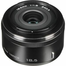 Refurbished Nikon 1 18.5mm f1.8 lens in black