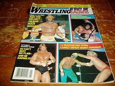 Wrestling USA Magazine Spring 1989 Issue WWF / WWE