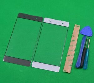 NEW Front Outer Screen Glass Lens Replacement parts For SONY XPERIA XA F3111