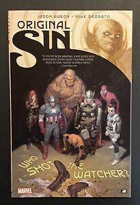 ORIGINAL SIN Marvel Comics TPB by Jason Aaron Complete Series Trade Paperback