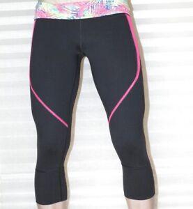 Victoria's Victoria Secret VSX Hi Rise 3/4 Capri Leggings Tights Running Yoga L