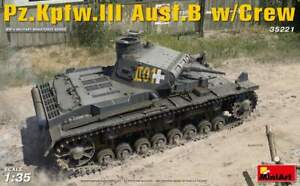 MiniArt 1/35 German Pz.Kpfw.III Ausf.B Panzer III w/ Tank Crew 35221