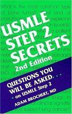 USMLE STEP 2 SECRETS, 2E By Adam Brochert Md **BRAND NEW**
