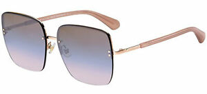 Occhiali da Sole Kate Spade JANAY/S Rose Gold/Brown Pink Shaded 61/15/145 donna