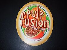 BOULDER BEER COMPANY Pulp Fusion Blood Orange IPA STICKER craft beer brewery