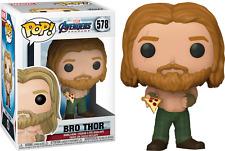 Funko Pop Marvel Vengadores Endgame Bro Thor with Pizza #578