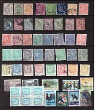 Finland used stamps selection