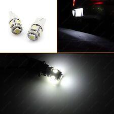 2x White LED License Plate Tag Light 158 168 194 2825 175 192 Fit Kia Hyundai