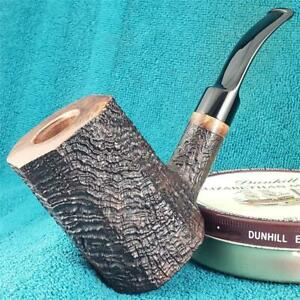 NEW UNSMOKED! R.C. SANDS HUGE PANEL POKER SITTER FREEHAND AMERICAN Estate Pipe