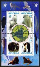Protection of the polar regions and glaciers. Penguins. Polar bears Abkhazia
