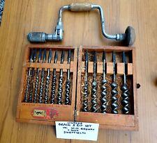 Vintage 13piece Brace & Bit Set