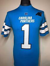 NFL Carolina Panthers T Shirt da uomo tutte le taglie Ufficiale NFL Team Apparel JERSEY