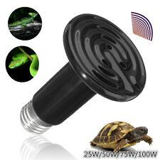 110V 150W 75cm Reptile Pet Ceramic Emitter Brooder Infrared Heat Lamp Light Bulb