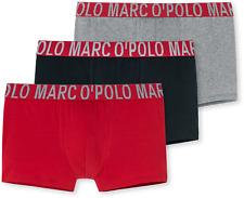 MARC O'POLO | 3-Pack Retropants (Rot/Schwarz/Grau) | S M L XL XXL