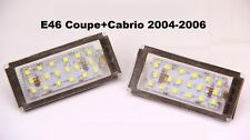 Luces led de matrícula BMW Serie 3 E46 Coupé y Cabrio facelift (2003-2006)