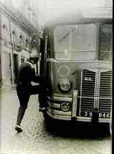 RIK VAN STEENBERGEN Cyclisme Cycling Photo Press Ciclismo bus 1951 Saint Nazaire