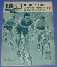 MIROIR SPRINT N°788 B 1961 CYCLISME TOUR FRANCE ANQUETIL MASSIGNAN GAUL PAUWELS