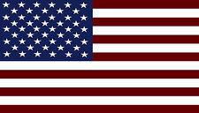 American Flag USA America Adhesive Vinyl Sticker Decal 4x7inch