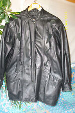 """ De CADE "" veste  PARKA caban Cuir T-40 JACKET/  LEATHER/COURO VINTAGE"