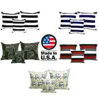 "Homemade USA Linen Pillow Cover Case Throw Pillows Home Decor 3 Size 18"" 24"" 26"""