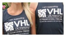 VHL UK/Ireland VHL Disease Charity Navy Sports Vest UNISEX