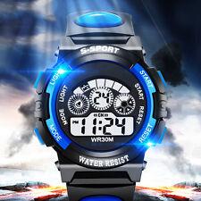 Boy's Girl's Multifunction Waterproof Electronic Sport Digital Wrist Watch Gifts