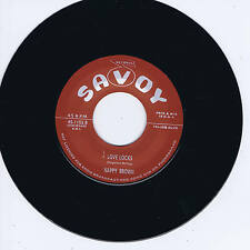 NAPPY BROWN - LOVE LOCKS / DON'T BE ANGRY (Top 10 RHYTHM & BLUES JIVERS) NEW !!