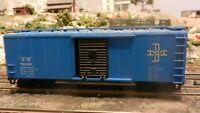 Athearn Bev Bel Ltd Run BB 40' Boxcar, Boston & Maine, Upgraded, Exc