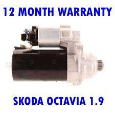 SKODA OCTAVIA 1.9 TDI 1996 1997 1998 1999 - 2010 RMFD STARTER MOTOR