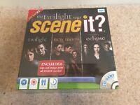 The Twilight Saga Scene It DVD Game Twilght New Moon Eclipse Brand New & Sealed