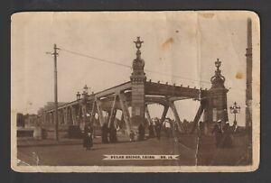 Egypt - 1928 - RARE - Vintage Post Card - BULAK Bridge, Cairo
