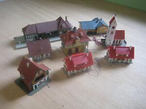 Faller, Einfamilienhaus, Alpenhaus, Fachwerkhaus, Rathaus, Kirche, Bahnhof