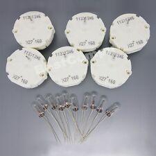For GM GMC 6 Stepper Motor Speedometer Gauge Repair Kit Cluster 10 Bulbs X27 168