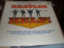 The Beatles LP Help GATEFOLD COVER