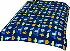 Toy Story 3 Flannel Fleece Blanket Space Bed Throw  Woody & Buzz Official
