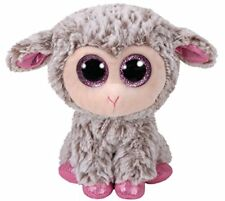 DIXIE THE EASTER GREY LAMB TY BEANIE BOOS  BRAND NEW 15cm BNWT