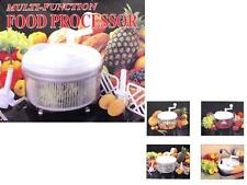 MULTIFUNCTIONAL MANUAL FOOD PROCESSOR KNEADING MIXING CUTTING MINCING KITCHEN