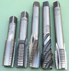 5 HSS Gewindebohrer M24 x3,0 Maschinen Gewindeschneider Regel Gewinde M 24 Satz