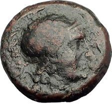 PERGAMON in Mysia Genuine  133BC Authentic Ancient Greek Coin ATHENA NIKE i62540