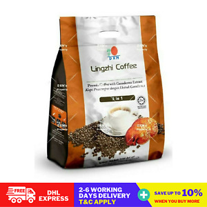 10 packs X 20 Sachets DXN Lingzhi 3 in 1 Ganoderma Coffee DHL Shipping
