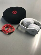 Beats by Dr. Dre Solo HD Headband Headphones - Matte White