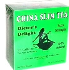 China Slim Tea Dieter's Delight 36 Tea Bags 3.17 oz - FREE SHIPPING!