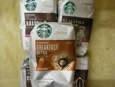 Starbucks Ground Coffee Bags 12 oz 5 Bags 3 Varieties Read Description