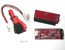 SATA Serial-ATA to 3.5 IDE PATA HDD Converter Adapter Support ATA100/133 + Cable