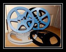 BARGAIN Super 8mm 400ft /120m Quality Cine Film Spool Reel £5.95 each