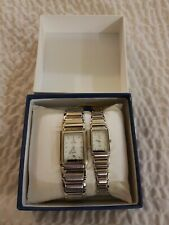 His And Hers Stainless steel Loui Swiss Watches,  From India