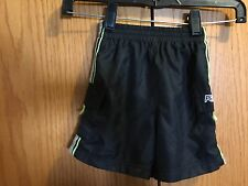 Boys Reebox Black Green Shorts Size 18 Months