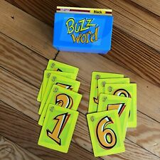 2003 Buzz Word Board Game Replacement Parts - All SCORING + PASSWORD CLUE CARDS